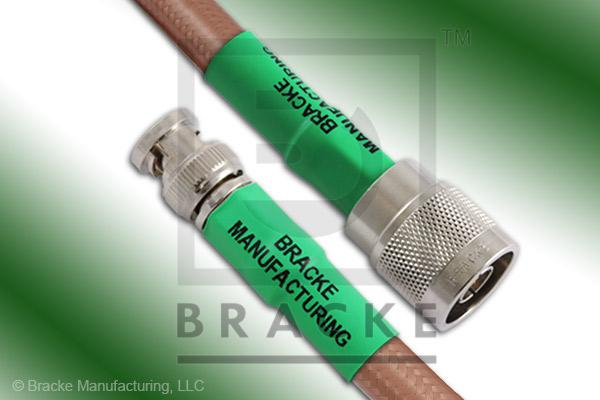 BNC Male to N Male Cable Assembly RG393/U