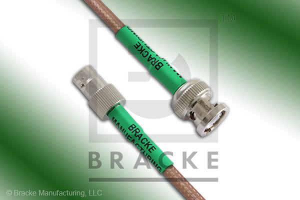 BNC Male to BNC Female Cable Assembly RG400/U