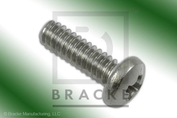 "#4-40 Phillips Screw, 3/8"" Length, Stainless Steel *Sold in 50 Pieces Per Pack*"