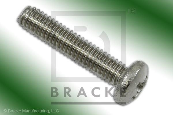 "#3-56 Phillips Screw, 1/2"" Length, Stainless Steel *Sold in 50 Pieces Per Pack*"