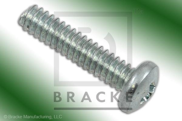 "#4-40 Phillips Screw, 1/2"" Length, Zinc Plated *Sold in 50 Pieces Per Pack*"