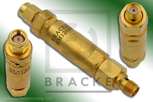 18 GHz Adjustable Phase Trimmer, 50 Ohm SMA Male to SMA Female, VSWR 1.40:1 @ 18 GHz