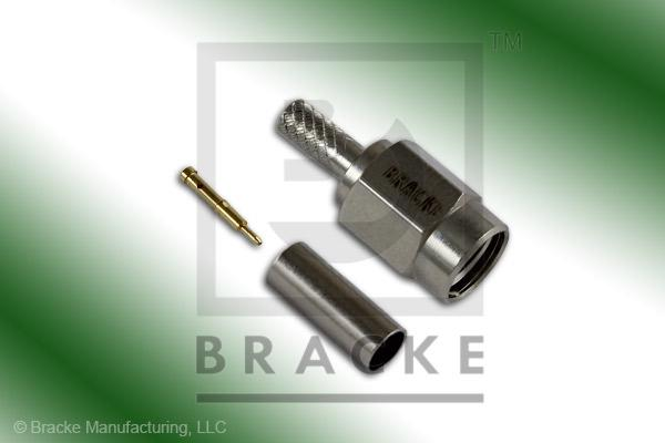 SSMA Male Connector Crimp LMR-100A, RG174, RG188, RG316