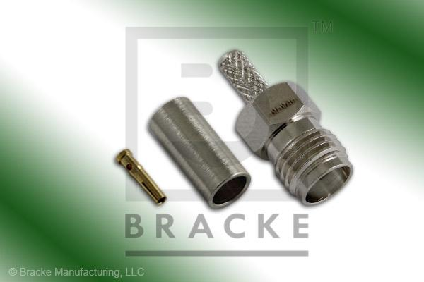 SMA Female Connector Crimp RG188-Double, RG316-Double