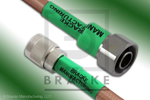 4.1/9.5 Din Male to N Male Cable Assembly RG393/U