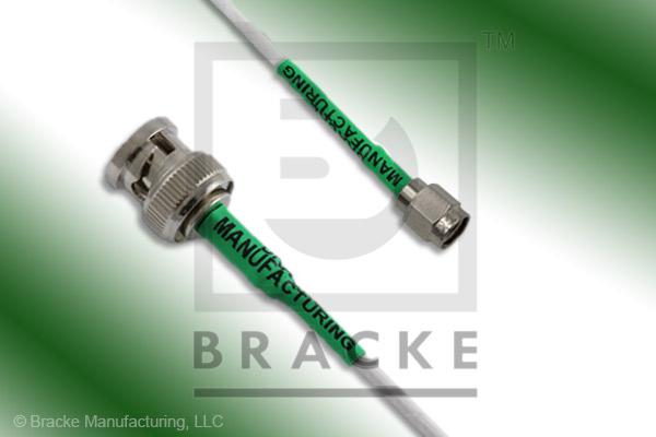 BNC Male to SMA Male Cable Assembly RG188A/U
