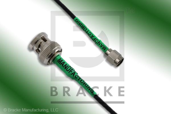 BNC Male to SMA Male Cable Assembly RG174A/U
