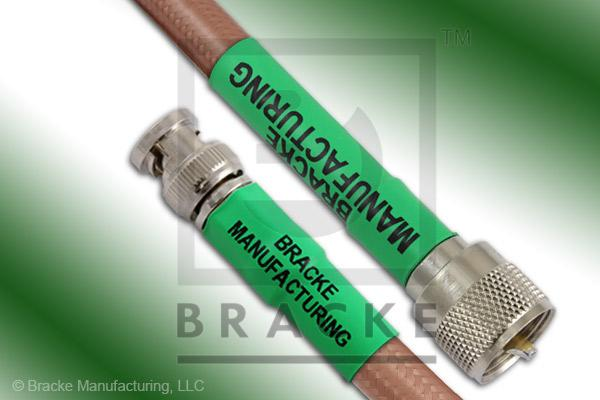 BNC Male to UHF Male Cable Assembly RG393/U