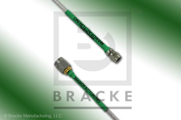 SMA Male to SMC Plug Cable Assembly RG405-Flex