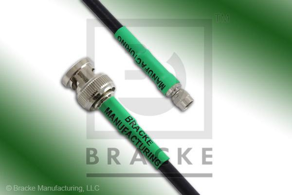 BNC Male to SMC Plug Cable Assembly RG223/U