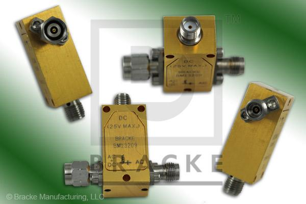 2.4mm RF Connector, Bias Tee SMA Female Bias Connector Frequency Range 50 KHz-50 GHz