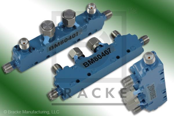 SMA Female Dual Directional Coupler, Freq. Range 2-4 GHz Coupling 20 +/- 1.25 dB