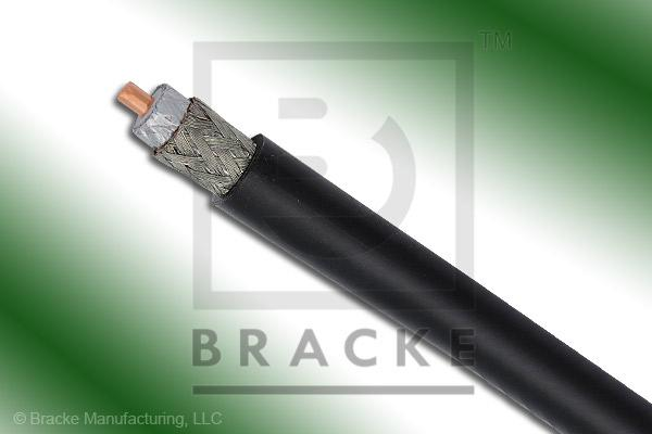 "50 Ohm, LMR-400-Dir-Burial Bulk Cable Direct Burial PE Jacket, .405"" Dia. 2 Shields, .108"" Center Conductor"