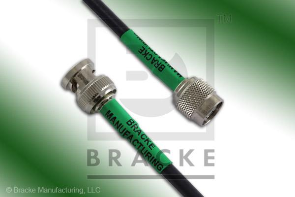 BNC Male to TNC Male Cable Assembly RG223/U