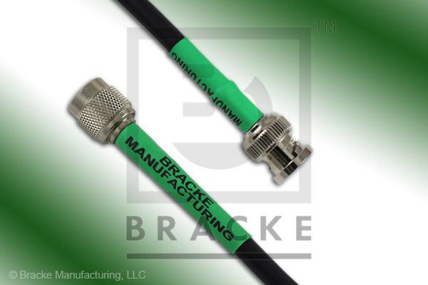 BNC Male to TNC Male Cable Assembly RG59B/U