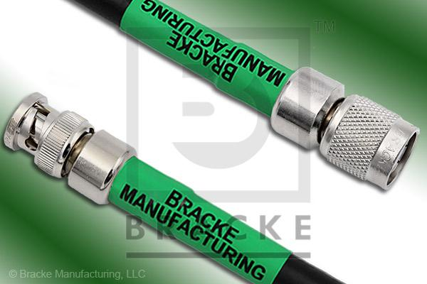 BNC Male to TNC Male Cable Assembly LMR-400