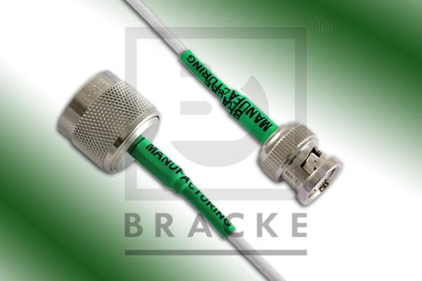 BNC Male to N Male Cable Assembly RG188A/U