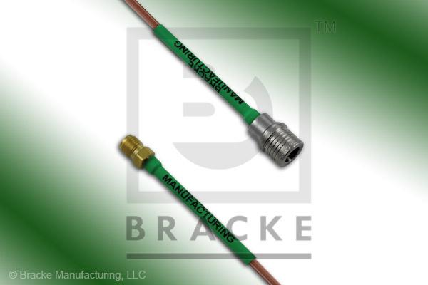 QMA Male to SMA Female Cable Assembly RG405/U