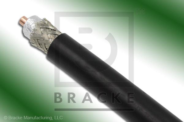 "50 Ohm, LMR-600 Bulk Cable PE Jacket, .590"" Dia. 2 Shields, .176"" Center Conductor"