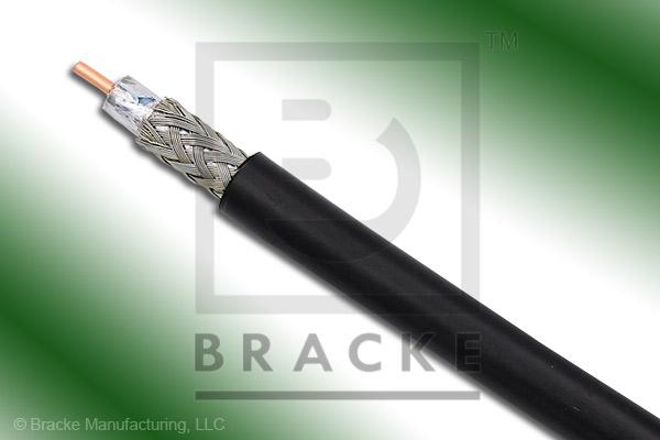 "50 Ohm, LMR-195 Bulk Cable PE Jacket , .195"" Dia. 2 Shields, .037"" Center Conductor"