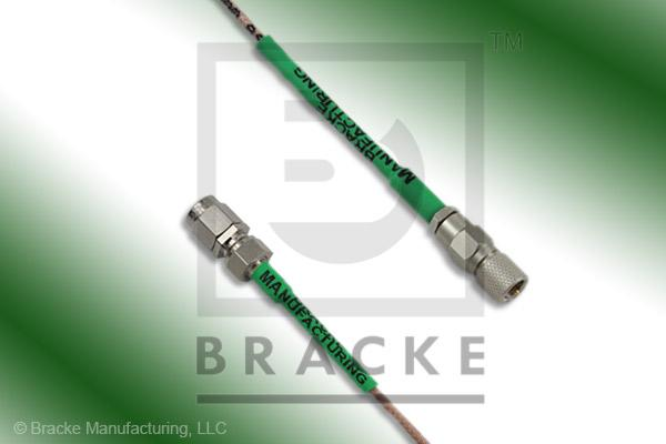 10-32 Male to SMA Male Cable Assembly RG178B/U