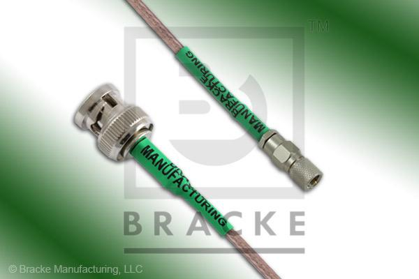 10-32 Male to BNC Male Cable Assembly RG316/U