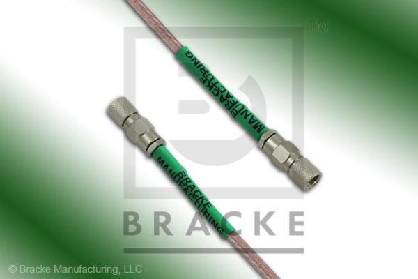 10-32 Male to 10-32 Male Cable Assembly RG316/U