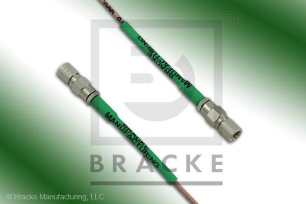10-32 Male to 10-32 Male Cable Assembly RG178B/U