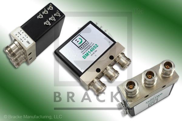 N Female Relay SPDT Switch, DC-8 GHz, 24-32 Vdc Features: Hot Switch,Indicators,latching