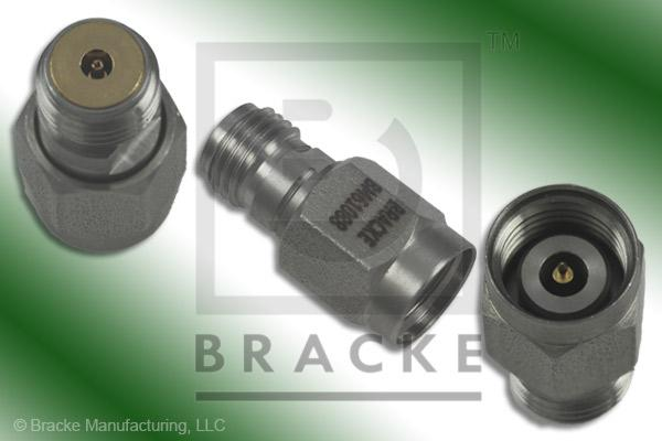 "2.4mm Male Sparkplug Connector Accepts .012"" Dia. Contact"