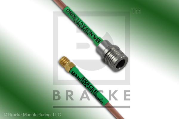 QMA Male to SMA Female Cable Assembly RG402/U