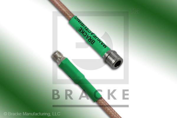 QMA Male to SMA Female Cable Assembly RG400/U
