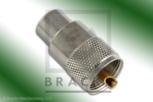 UHF Male Connector Solder RG8, RG9, RG213, RG214, RG225, RG393