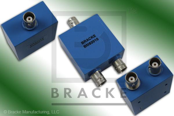 BNC Female Power Divider Frequency Range 2-500 MHz 2 Output Ports, VSWR 1.35:1 Max