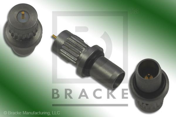 "BMMA Plug Press Mount Connector .015"" Round Contact"