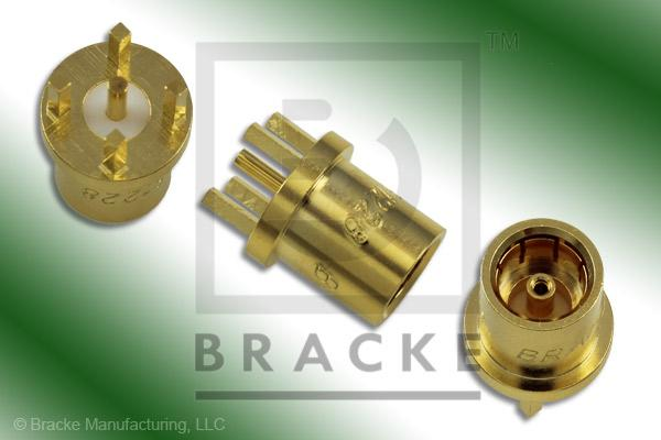 "BMA Jack P.C. Mount Connector .050"" Round Contact"