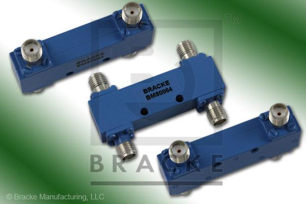 SMA Female 90 Degree Hybrid Frequency Range 1.0-2.0 GHz Coupling Loss 3.2+/-.3dB Max, VSWR 1.15