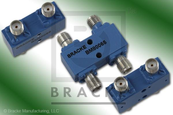 SMA Female 90 Degree Hybrid Frequency Range 2.0-4.0 GHz Coupling Loss 3.2+/-.3dB Max, VSWR 1.20