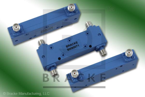 SMA Female 90 Degree Hybrid Frequency Range 2.0-8.0 GHz Coupling Loss 3.4+/-.5dB Max, VSWR 1.30