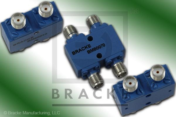 SMA Female 90 Degree Hybrid Frequency Range 12.0-18.0 GHz Coupling Loss 3.6+/-.8dB Max, VSWR 1.40