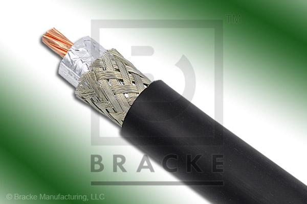 "50 Ohm LMR-600-Ultra-Flex Bulk Cable TPE Jacket, .590"" Dia. 2 Shields, .176"" Center Conductor"